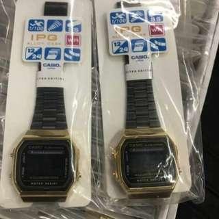 Casio limited edition Black Gold Watch