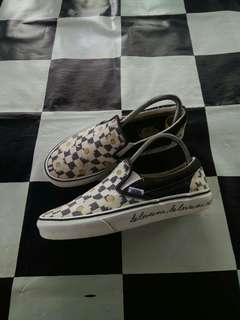 Vans Slip On Checkerboard Love Me