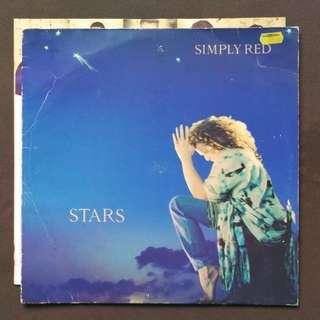 Simply red George Michael enya original LP record