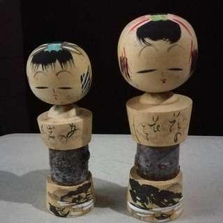 japanese doll wood kokeshi