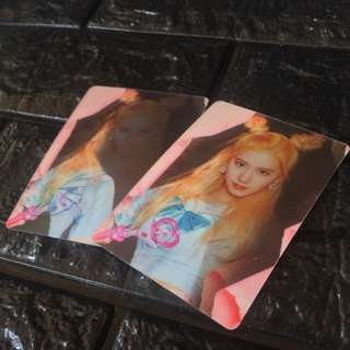 TWICE Page Two - Lenticular Cards