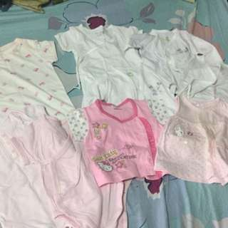 Baby girl clothes 3 to 6mos. Old