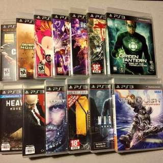 Mint Condition PS3 Games for Sale