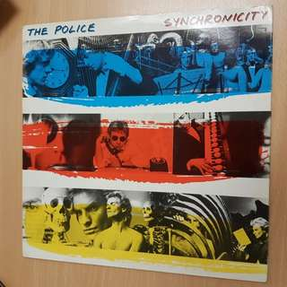 The Police Synchronicity Vinyl LP Original Pressing Rare