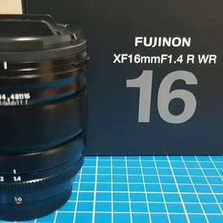 Fujinon xf16mm f1.4 r wr