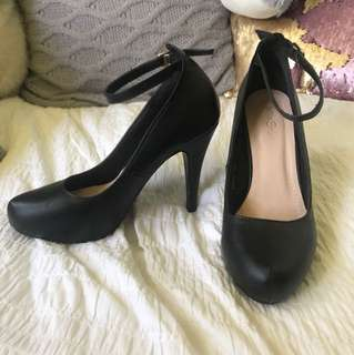 Black Ball shoes (worn once)