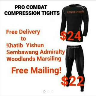 Pro Combat Compression Sport Tight