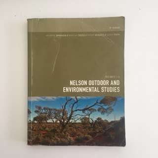 Nelson Outdoor and Environmental Studies VCE Units 1-4