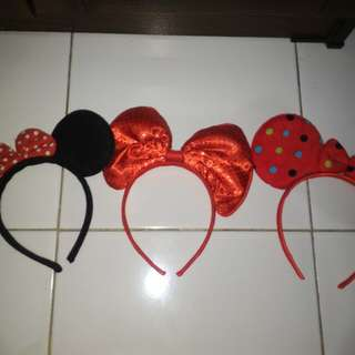BANDO MINI MOUSE AND MICKEY MOUSE