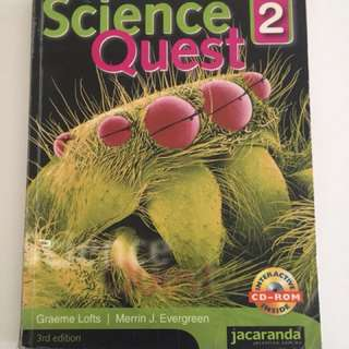 Science Quest 2 textbook