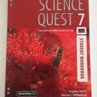 Science Quest Workbook Year 7