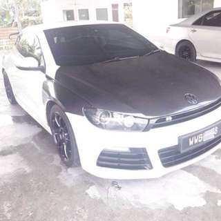 SAMBUNG BAYAR  VW SCIROCCO 1.4 TSI TURBO TAHUN 2011 BULANAN RM 1450 BAKI 5 TAHUN ROADTAX HIDUP UPGRADED STAGE 2 H/R Spring sport Atm remap stage 2 Full exzos system  Cts intake kit Carbon spoiler  DP KLIK wasap.my/60133524312/scirocco