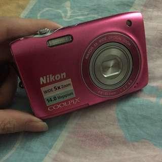 粉色系列 NIKON Coolpix S3100