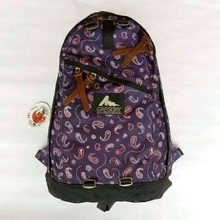 Gregory Daypack Midnight Paisley
