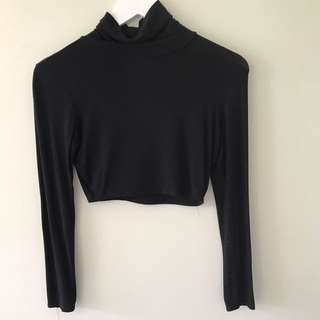 Misguided Turtle Neck Crop