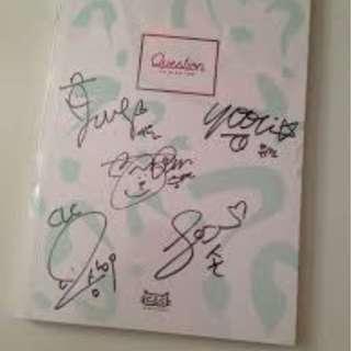 CLC Signed Album (Question) OFFICIAL