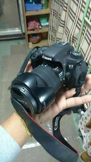 Dslr canon 760d wifi with tripod and bag