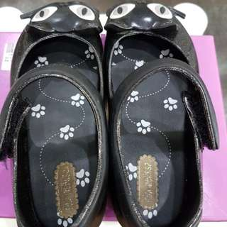 Mini Melissa Ultragirl II Black Glitter
