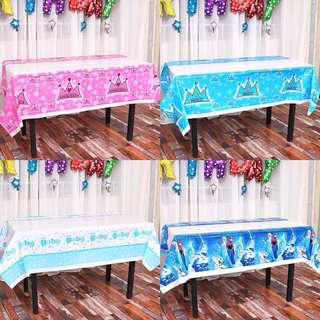 Children Party Themed Table Cloth