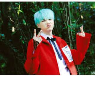 BTS Suga Butterfly Exhibition Photocard OFFICIAL