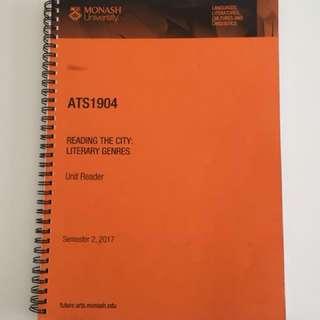Monash Uni ATS1904 Unit Reader