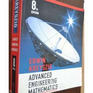 Advanced Engineering Mathematics (8th Edition) by Erwin Kreyszig