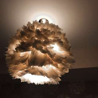 💕 Fluffy Feather Chandelier 💕