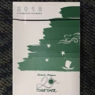 SPECIAL SALE❗️ Starbucks 2018 Planner