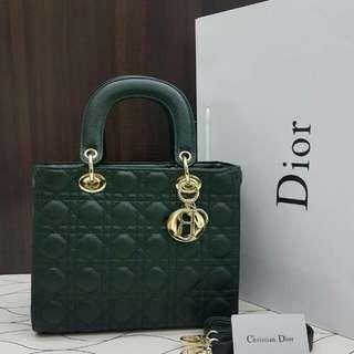 Lady Dior Green