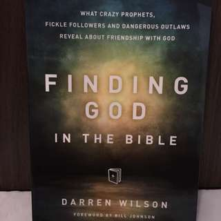 Charity Sale! Finding God in the Bible by Darren Wilson