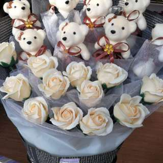 Soap roses Bouquet cheap affordable