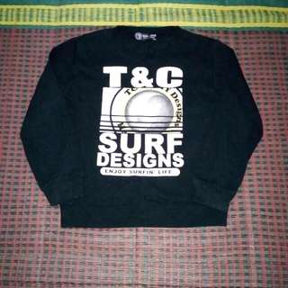 T & C  SURF DESIGN SWEATSHIRT