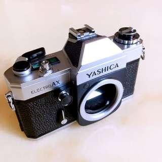 Yashica AX SLR film camera