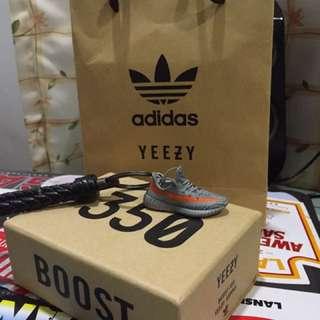 Yeezy 350 boost keychain
