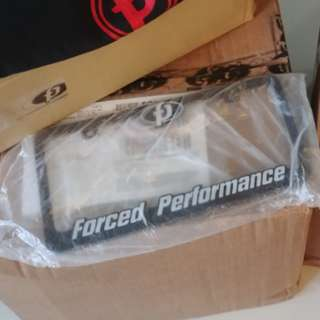 Force performance plate holder