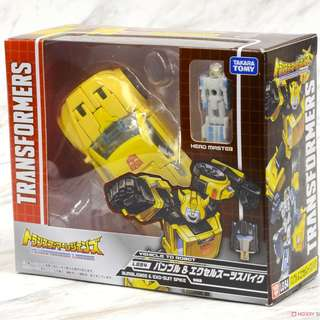 (OFFER)TRANSFORMERS LEGENDS - LG54 BUMBLEBEE & EXO-SUIT SPIKE