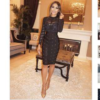 G20 studded affair formal party dress