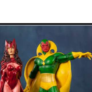 Bowen Vision & Scarlet Witch Statues (Not sideshow /XM)