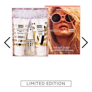 LIMITED EDITION Mecca X James Read Tanning kit
