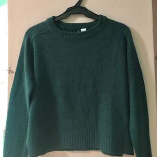 H&M Divided | Green Knit Sweater