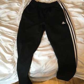 Adidas pants size L kids