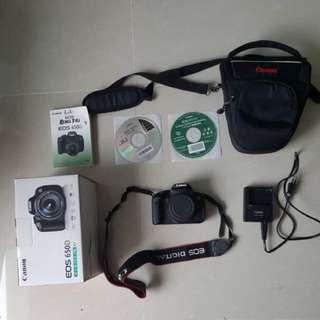 (Relisting) Canon 650D