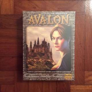 The Resistance Avalon party game (NOT FAKE)