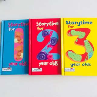 Children's story book for 123
