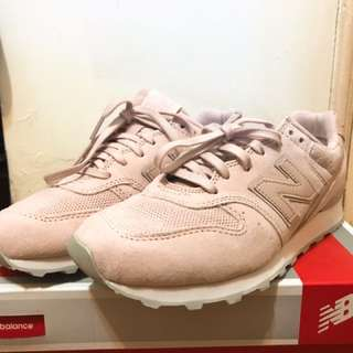 全新!New Balance 996 粉紅n字鞋 us7.5號