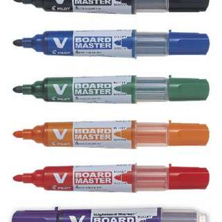 Pilot Whiteboard Markers & Refills