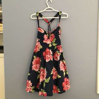 A&F flower dress