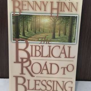 Charity Sale! The Biblical Road to Blessing by Benny Hinn