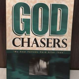Charity Sale! The God Chasers by Tommy Tenney