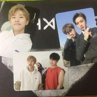 (WTT/WTS) MONSTA X PHOTOCARDS THE CODE ALBUM